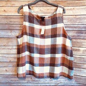 New | Ann Taylor Factory | Sleeveless | Size XL